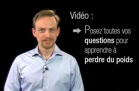 Comment poser vos questions pour perdre du poids ? Réponse en vidéo !